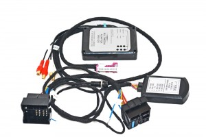 AUDIO / VIDEO INPUT AUDI RNS-E NAVIGATION PLUS