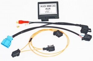 AUDIO INPUT AUDI MMI 2G HIGH / BASIC